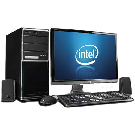 PC INTEL ASROCK D1800 DUAL CORE | 500GB | 2GB | KIT 500W