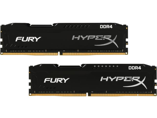 MEMORIA KINGSTON 8GB 2400MHZ DDR4 HYPERX FURY