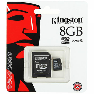 MEMORIA MICRO SD KINGSTON 8GB CLASE 10