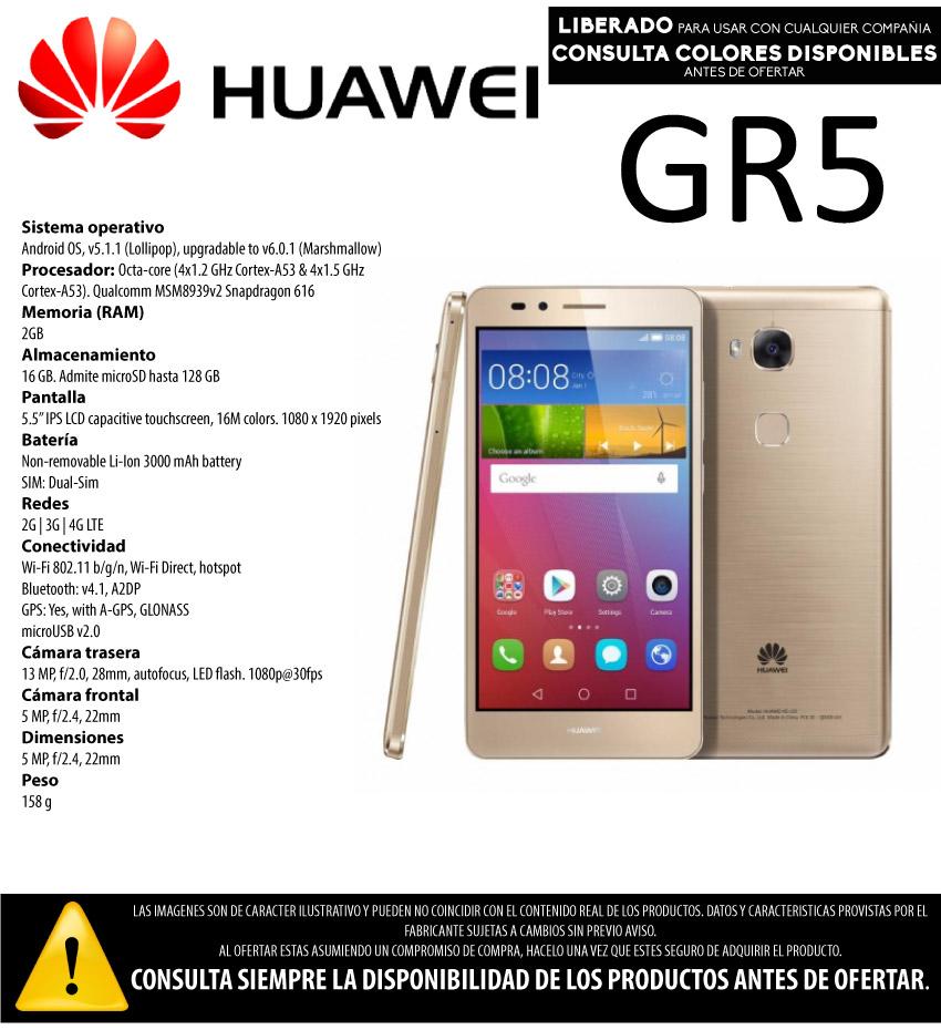 CE HUAWEI GR5